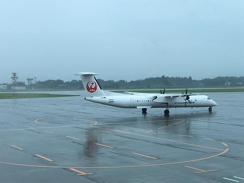与論島旅行記:与論空港までの飛行機待ち